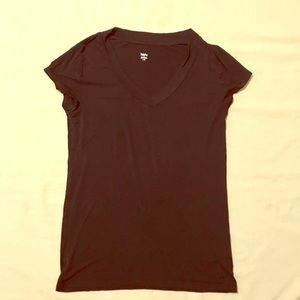 Mossimo Black vneck Tee Size Large